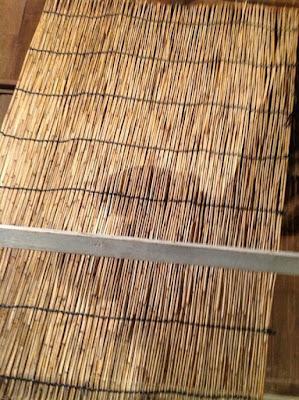 伝統的な玉露や抹茶の覆いで使われる、よしずの作り方 - 16