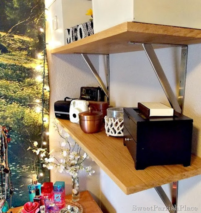 DIY Wall Shelves7