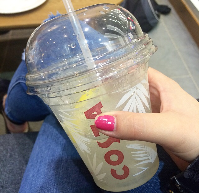 Costa Iced Lemonade