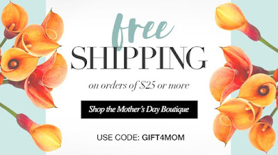 Free Shipping on $25. Or more today only 4/28/16