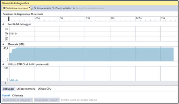 FIGURA 3 thumb3 - Parte uno: strumenti per il debug in Visual Studio 2015