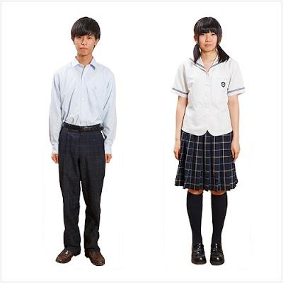 上田西高等学校の女子の制服3