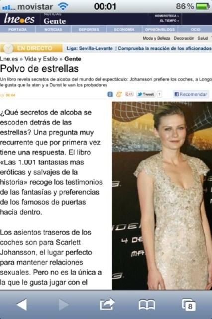 'Las 1.001 fantasías...' en La Nueva España, diario independiente deAsturias