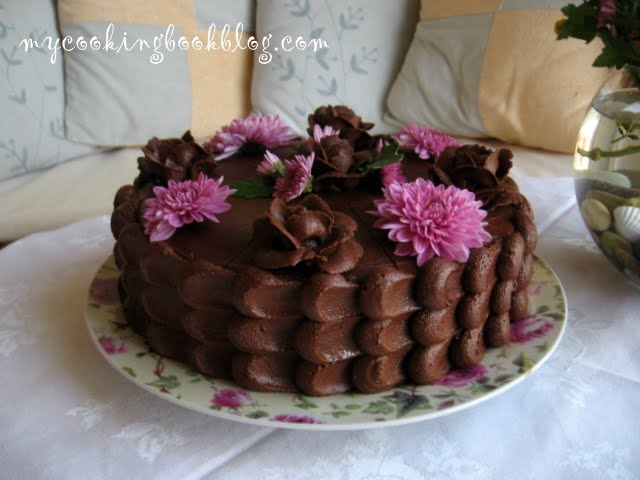 Шоколадово-маслена глазура (Chocolate Buttrrcream Icing)