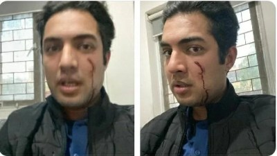 Anchor Syed Iqrar-ul-Hassan gets Attacked in Lahore