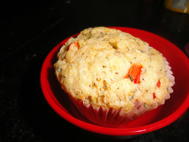Eggless Savoury Muffins and Sin-a-mon (4/6)