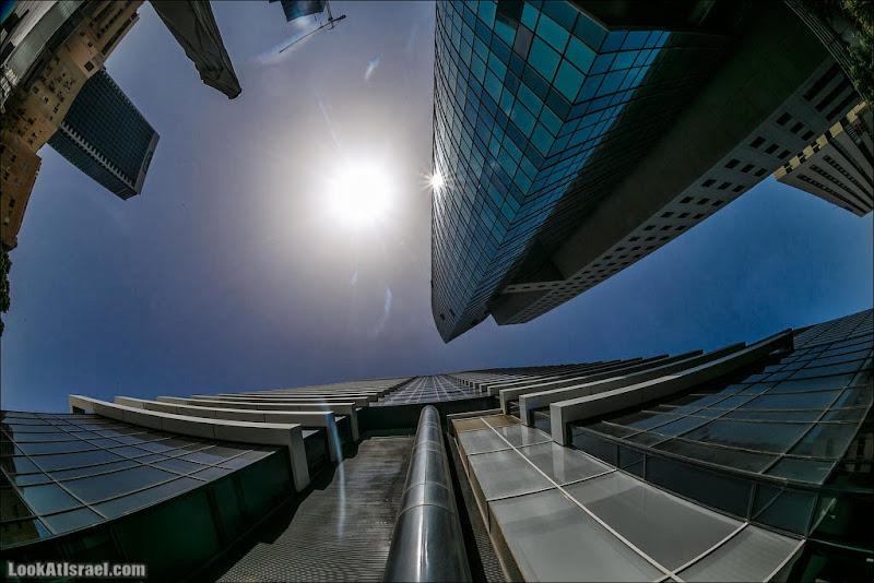 Тель Авивские небоскребы - башня Псагот