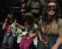 3D glasses make everyone look stupid.