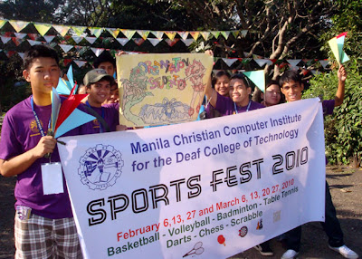 Sports Fest Banner with MCCID Student Organization
