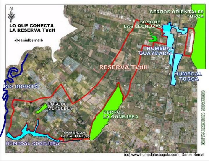 Lo que conecta y generá la Reserva Thomas Van der Hammen