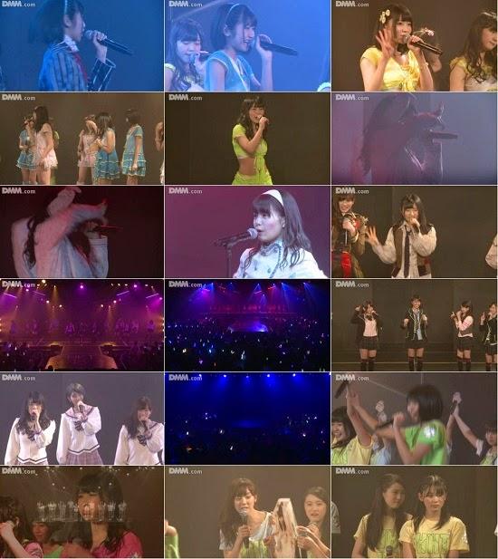 """(LIVE)(公演) HKT48 ひまわり組 """"パジャマドライブ"""" 山下エミリーの生誕祭 141219"""