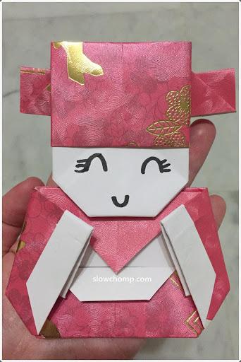 CNY God of Fortune Origami 小财神折纸 - photo#5