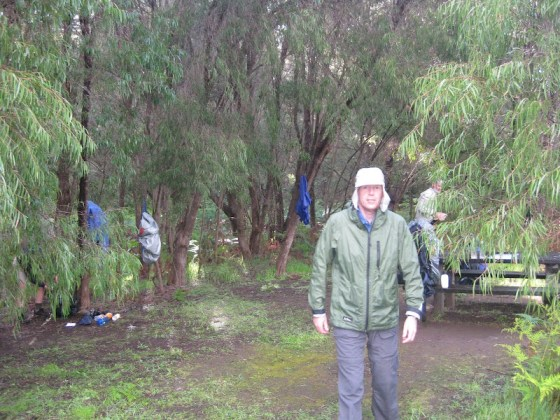 Camping at Ellensbrook Campsite - Cape to Cape Track
