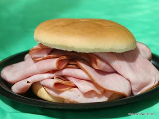 Ham!  Grimmace loves Ham!