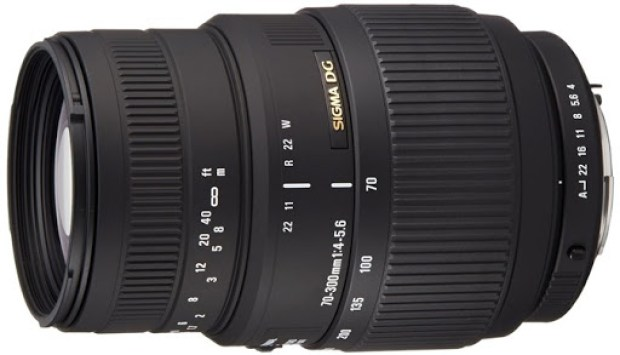Sigma 70-300mm f/4-5.6 DG Macro Telephoto Zoom Lens for Pentax DSLRs