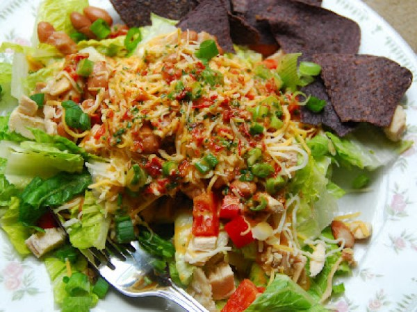 Cilantro Lime Chicken Chopped Salad