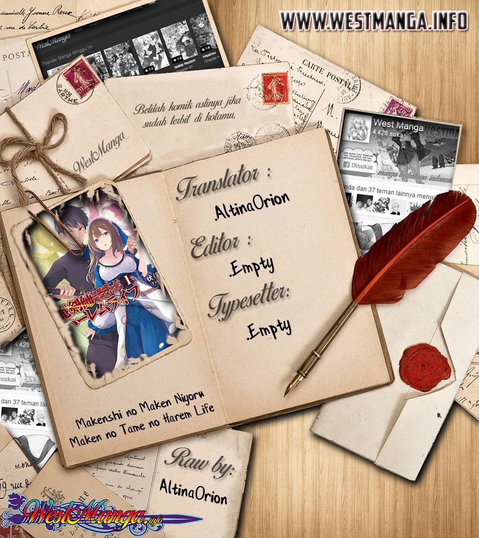 Makenshi no Maken Niyoru Maken no Tame no Harem Life: Chapter 08.1 - Page 1