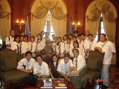 Malacanang Palace Office of former President Ferdinand Marcos