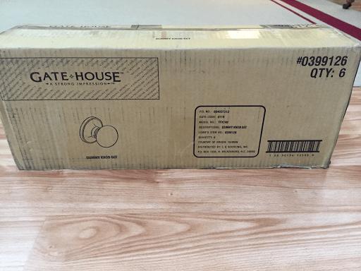 box of doorknobs
