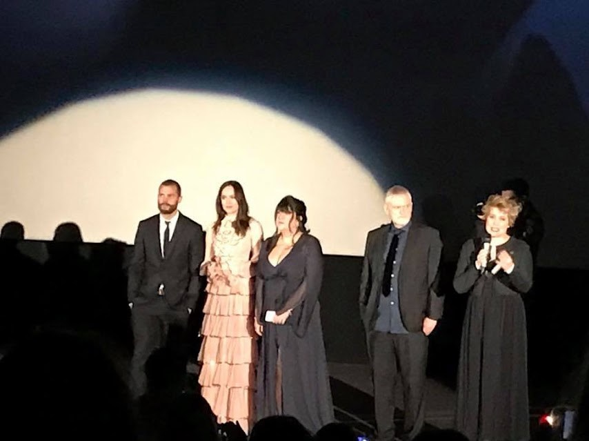 Premiere de 50 sombras más oscuras en Madrid con los actores Jamie Dornan y Dakota Johnson