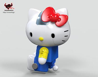 #無敵鐵金剛+凱蒂貓=?:登場吧! 超合金 Hello Kitty !! 3