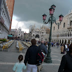 Storm clouds over San Marco square