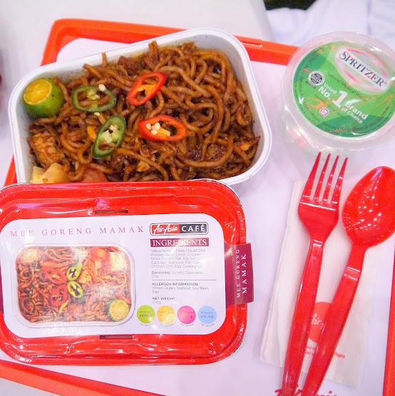 AirAsia's Kamal's Mee Georeng Mamak