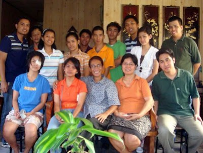 February 20: Jepa Kerena Basilio with Sister, Father, Mother and Eldest Brother (Champaca, Marikina City)