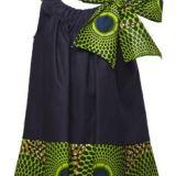 African Print Full Skirt for Little Girls