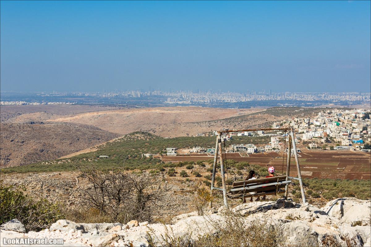 Балкон страны и монастырь Дир Кала