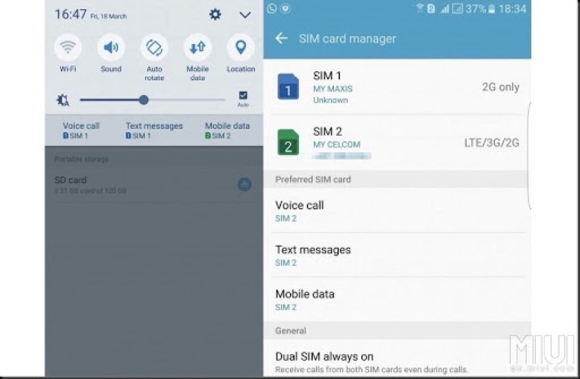 cara hack slot sim card hybrid smartphone android