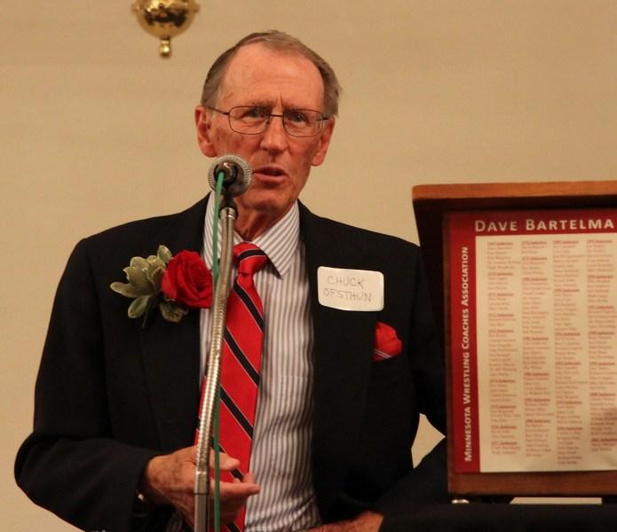 2012 Bartelma Hall of Fame inductee Chuck Ofsthun.