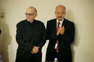 El maestro Abreu y el embajador de Venezuela en Japón, Seiko Ishikawa?