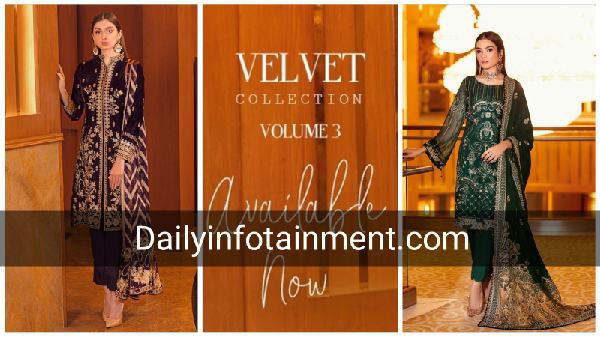 Ramsha Velvet Unstitched Collection 2021 Available online