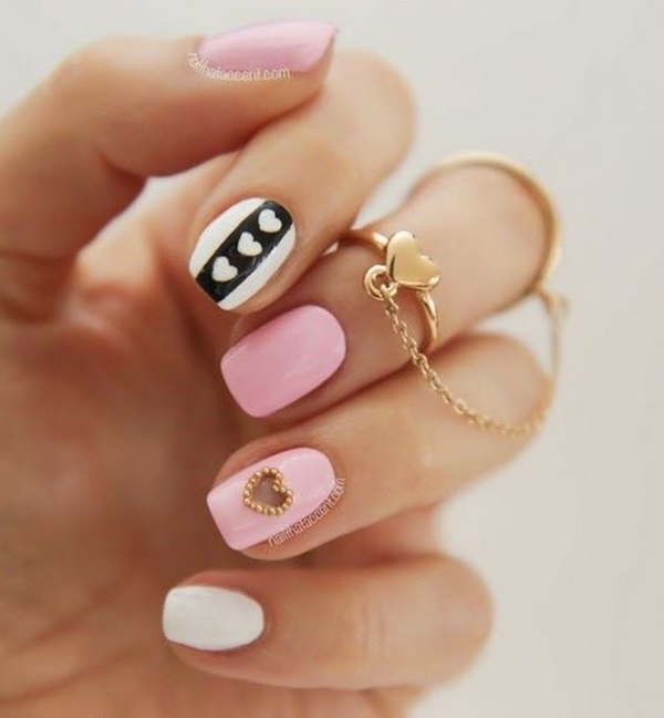 Latest Nail Designs For Short Nails In 2018 Pretty 4