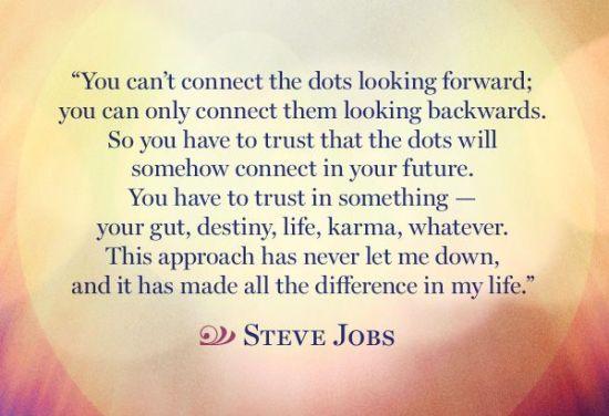 steve jobs quote never settle