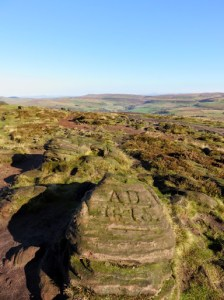 The Roaches Summit Rock Writings