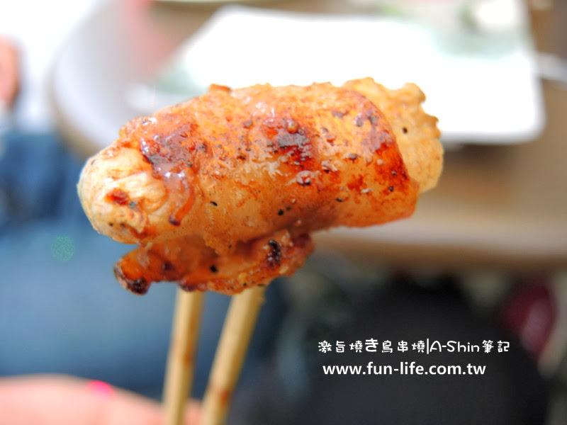 激旨燒き鳥串燒 豬肉酸白菜口感是酸甜帶軟嫩,衝突又融洽