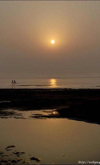 sunset chhat puja