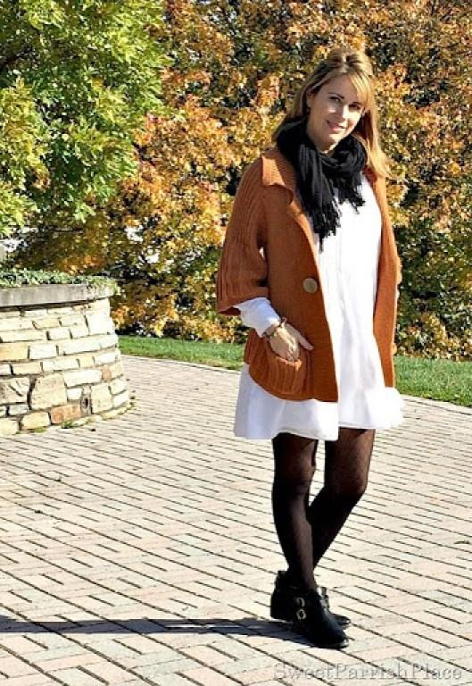 white-dress-orznge-chunky-swezter-black-tights-booties-3
