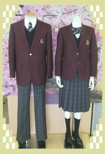 富山県立高岡商業高等学校の女子の制服1