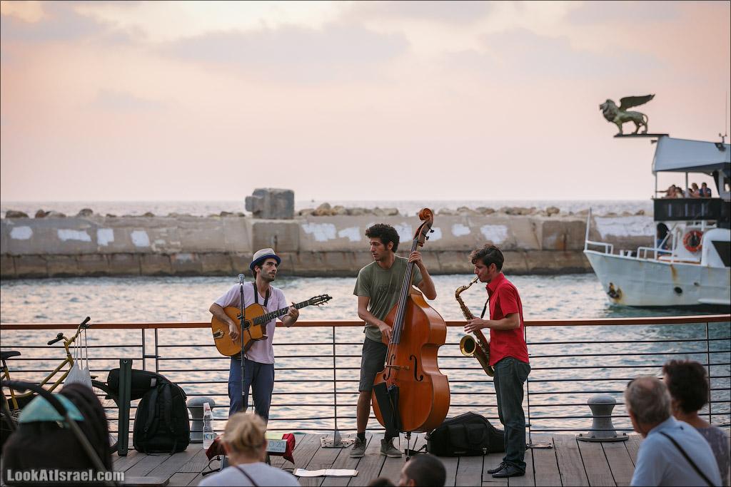 Музыканты в Яффо | LookAtIsrael.com - Фото путешествия по Израилю и не только...