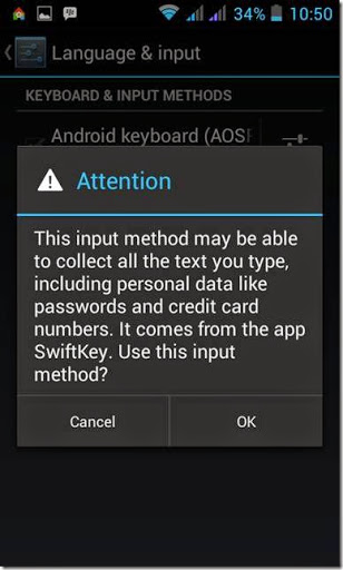 cara cepat menginstall aplikasi swiftkey keyboard android