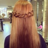loop braid hairstyle ideas 2017