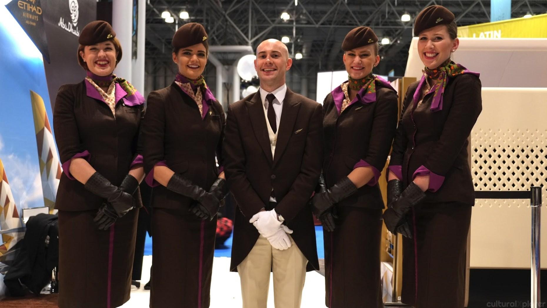 Etihad Flight Attendants