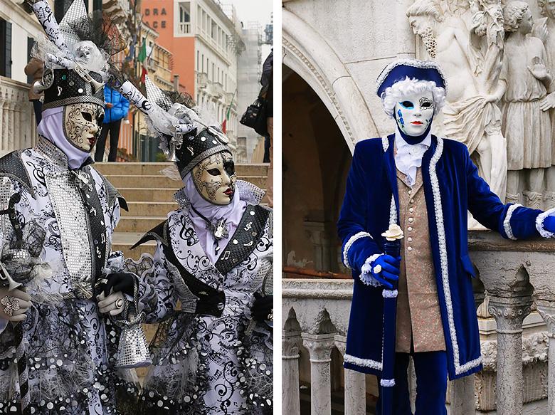 Costumes du Carnava de Venise 2016.