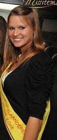 Alien Denys kandidate Miss West-Vlaanderen