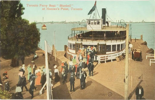 postcard-toronto-island-hanlans-point-ferry-bluebell-crowd-of-passengers-nice-version-1909
