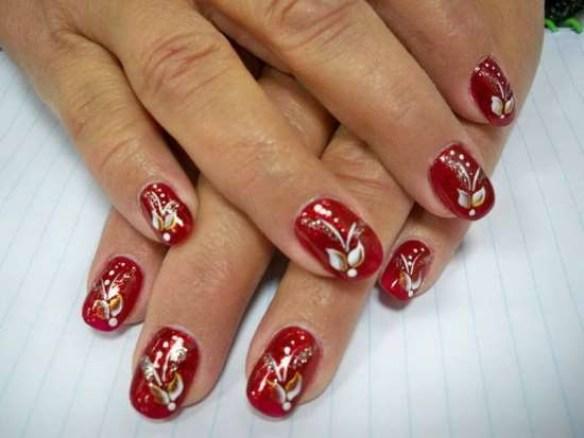 Creative Christmas Nail Art Designs Fashionte