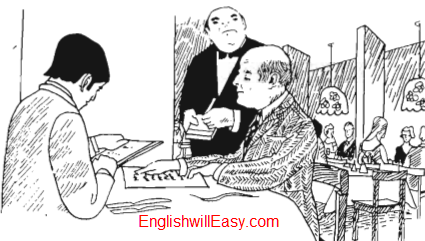 In a Restaurant – Situational Dialogues – How to say